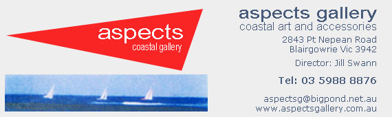 Aspects Coastal Gallery at Blairgowrie on the Mornington Peninsula
