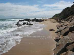 Sunnyside Beach Map - Mornington Peninsula, Victoria